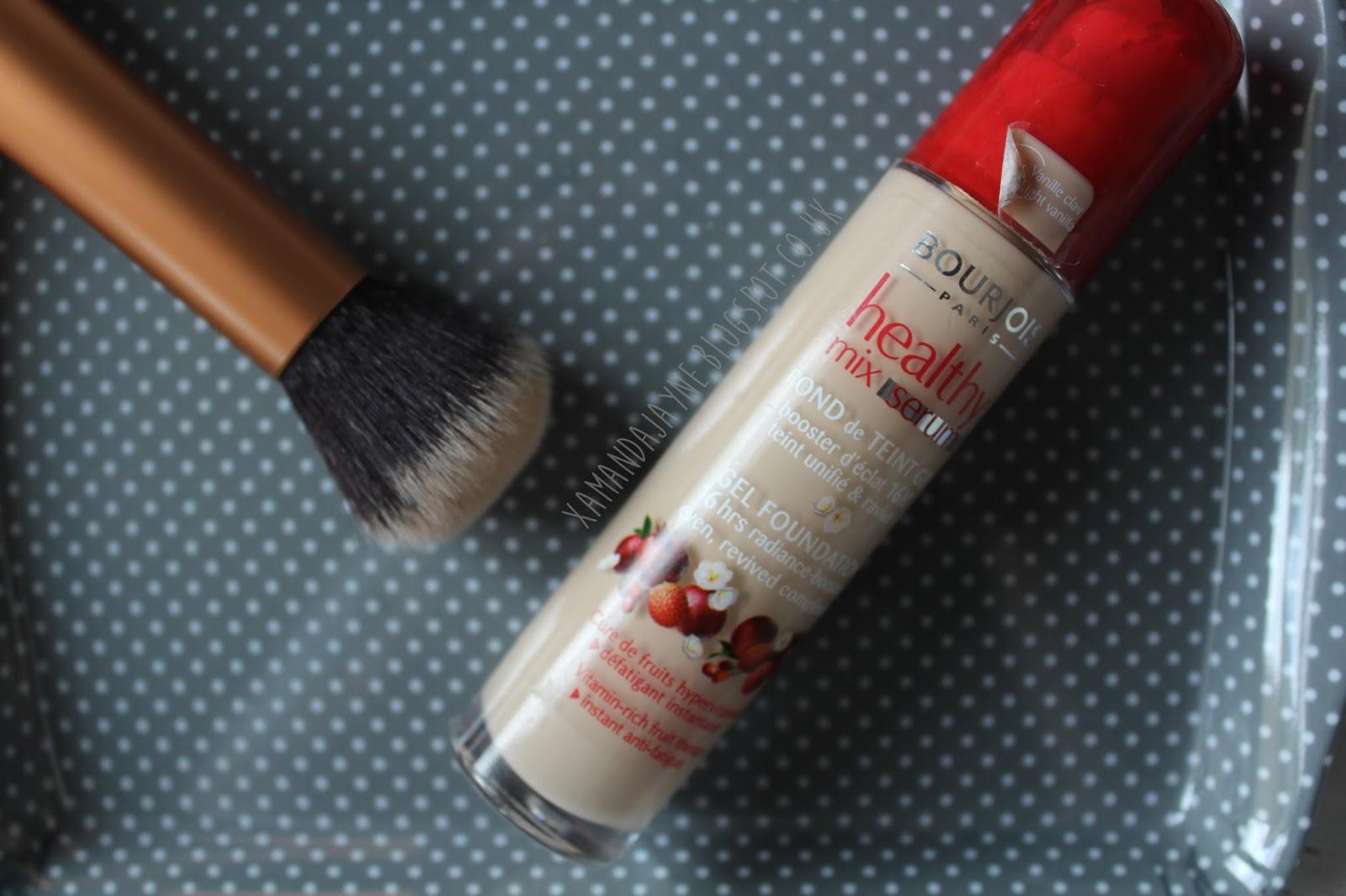 bourjois budget healthy mix gel serum foundation drugstore beauty cosmetics best foundation dewy skin