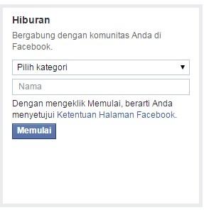 8 Langkah mudah membuat Fans Page facebook