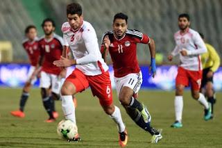 نتيجة مباراة مصر وأوغندا اليوم الثلاثاء والقنوات الناقلة لبث المباراة في تصفيات كأس العالم 2018