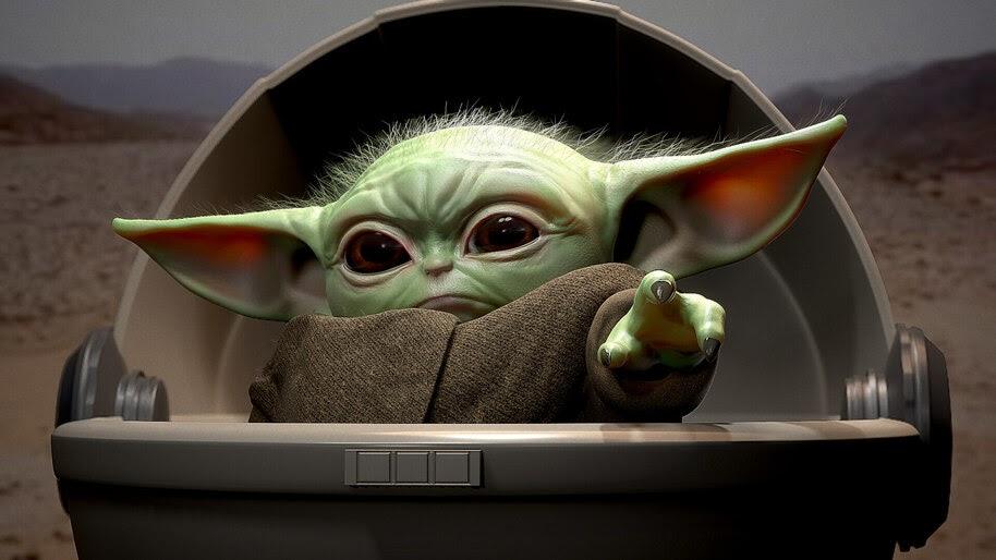Baby Yoda, 4K, #7.975
