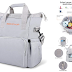$10.99 (Reg. $21.99) + Free Ship Baby Diaper Backpack with Changing Pad!