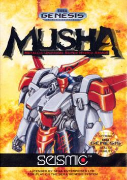 Rom de M.U.S.H.A - Mega Drive - PT-BR