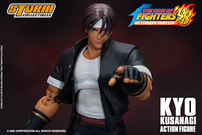 Kyo Kusanagi de King of Fighters 98: Ultimate Match - Storm Collectibles