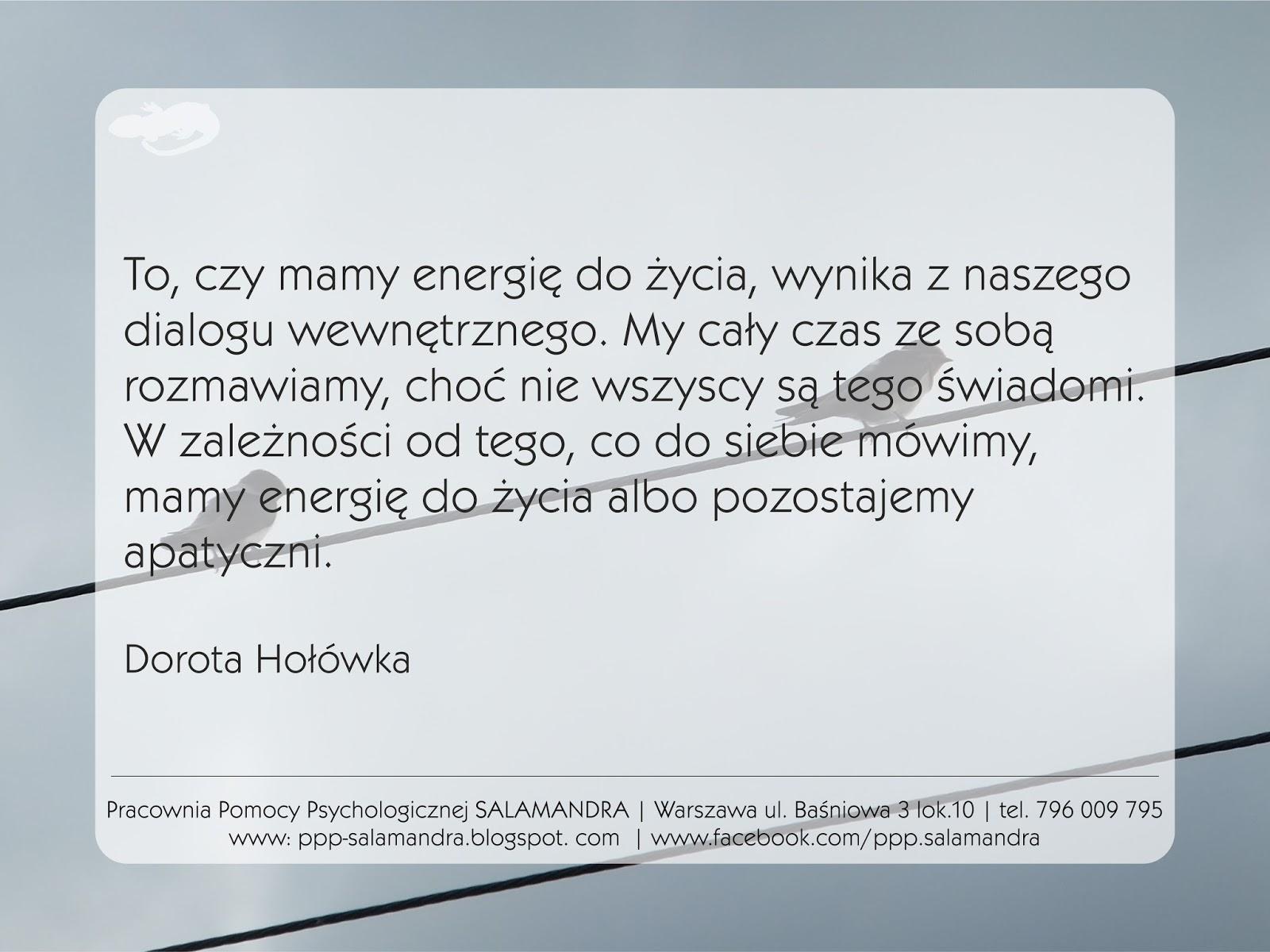 Dobry psycholog Warszawa o znaczeniu wewnętrznego dialogu