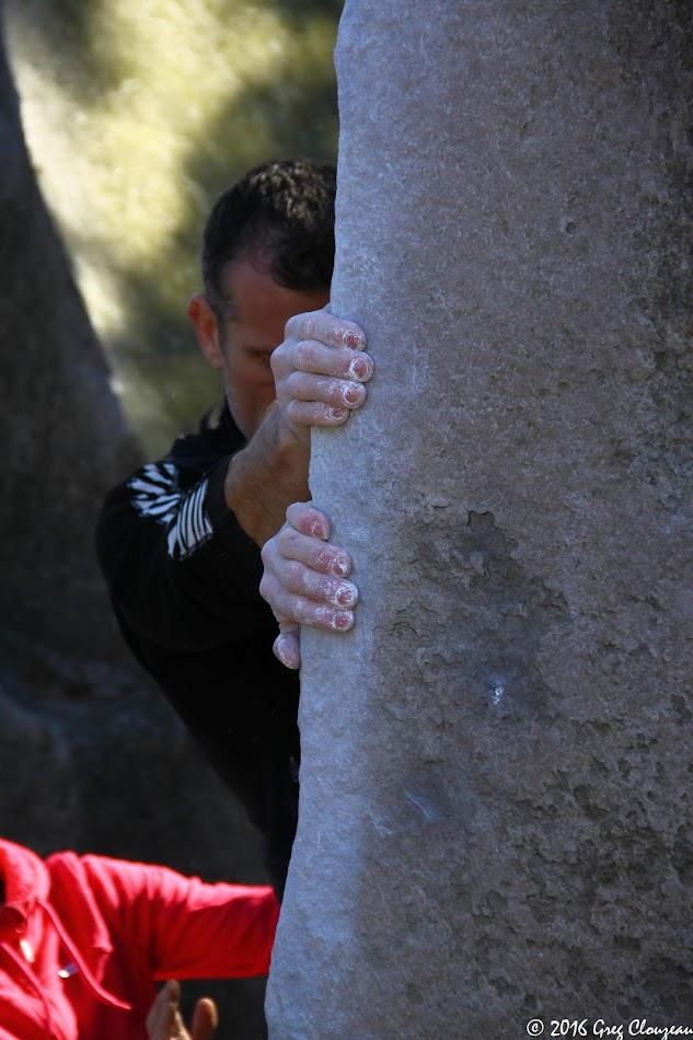 Remonter l'Angle Allain, 80 ans après sa première, n'est pas chose facile (c) 2016 Greg Clouzeau