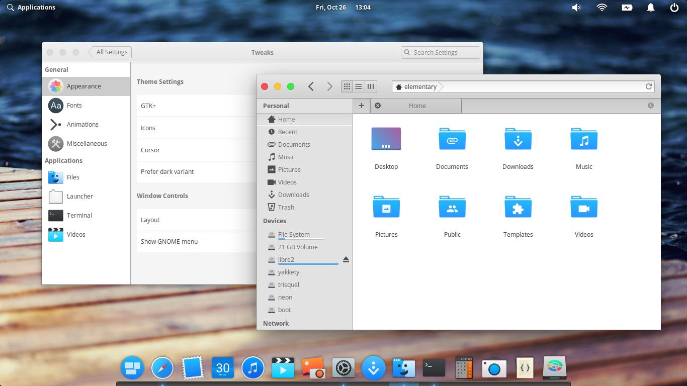 Ubuntu Buzz !: elementary OS 5 0 Capitaine-X Combo Customization