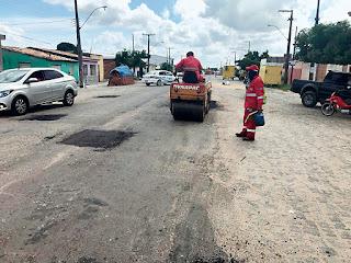 Operação Tapa-Buraco contempla quatro rodovias estaduais esta semana