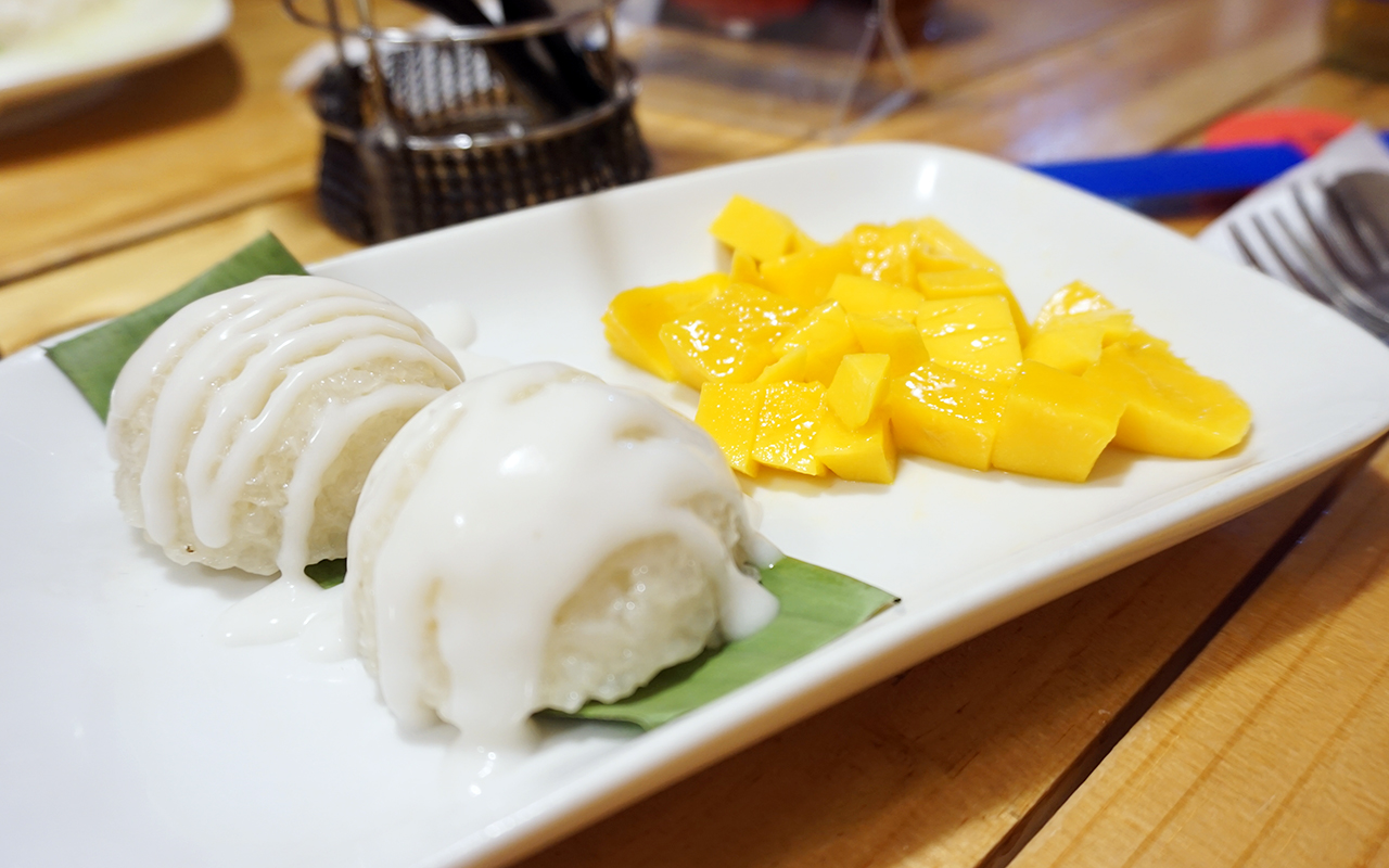 Go Thai Bistro's mango sticky rice