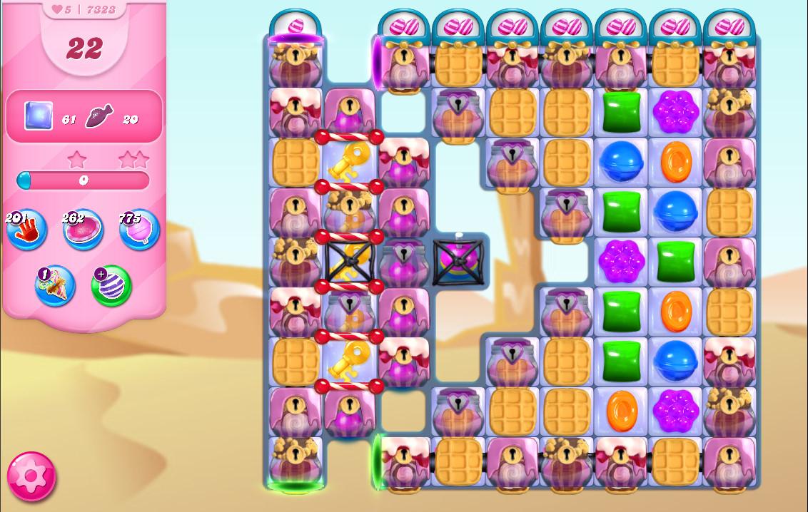 Candy Crush Saga level 7323