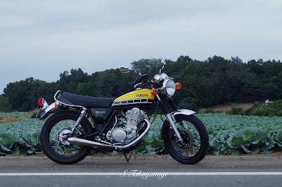 SR400 YAMAHA バイク