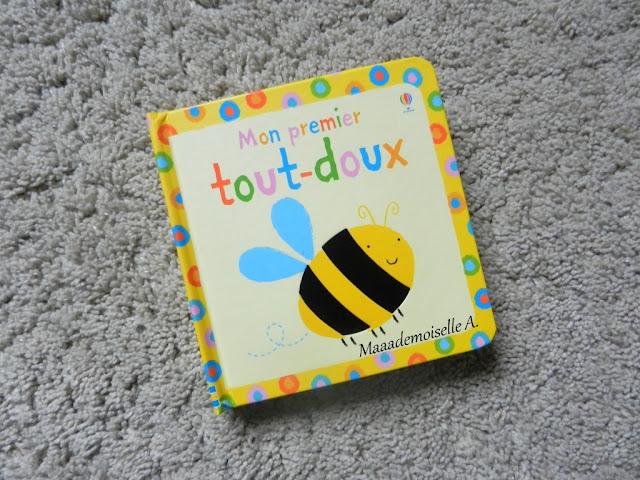 || Sélection d'imagiers à toucher : Mon premier tout-doux (Présentation & Avis)(Chut, les enfants lisent # 48)