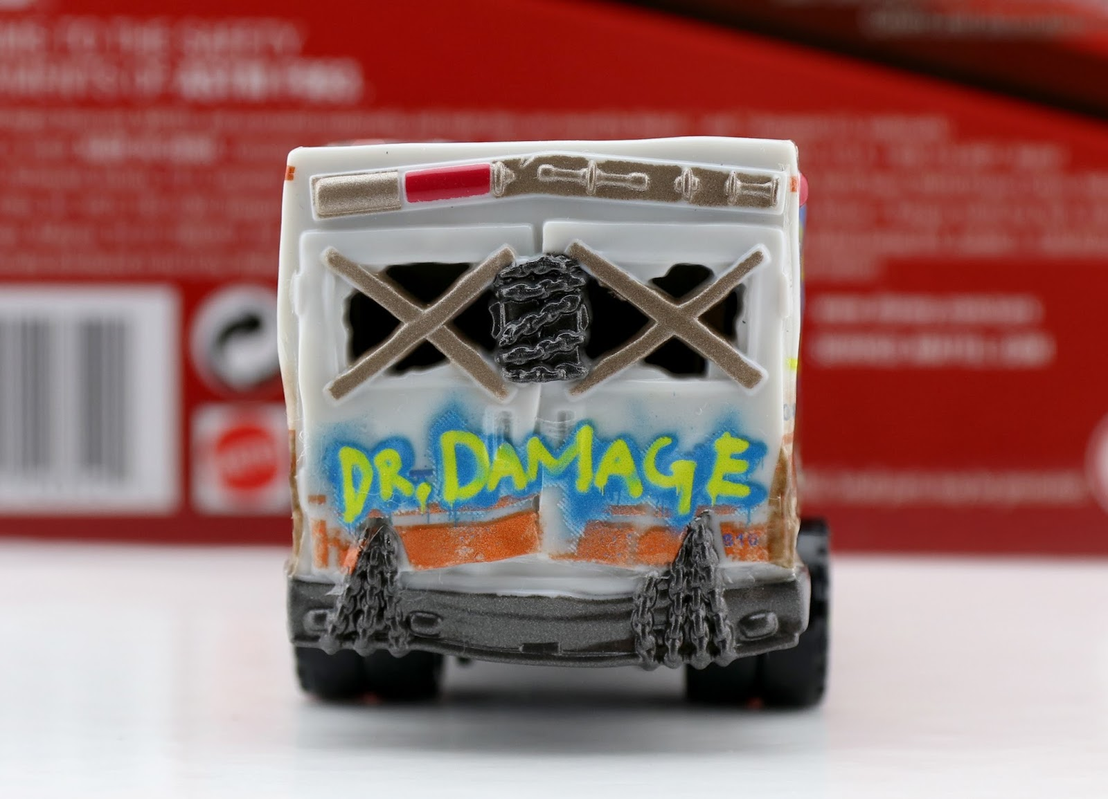 cars 3 dr. damage mattel diecast