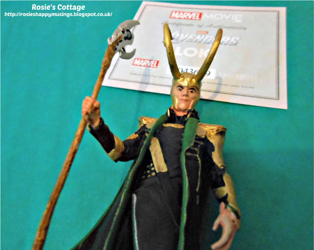 Loki with numbered certificate