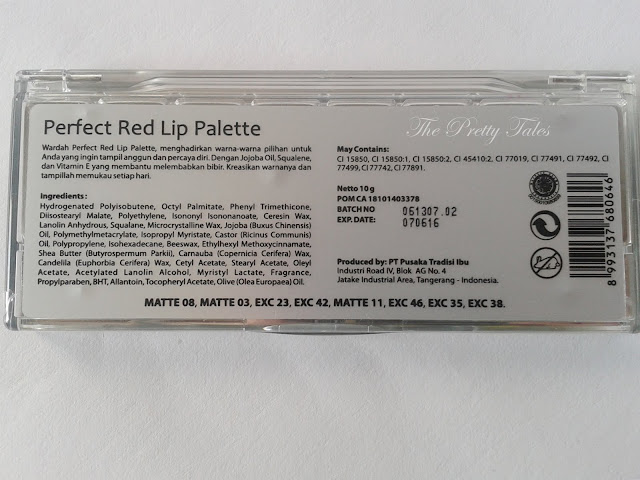 wardah lip palette perfect red review