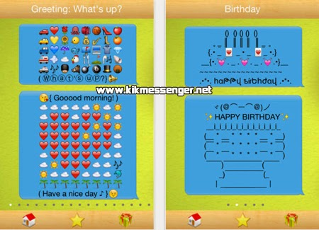 Letras y emoticones con Texting Emoji Pic Art For Kik