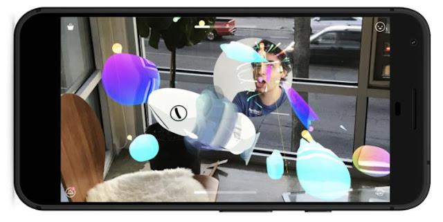 Ein Smartphone zeigt TendAR