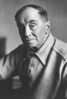H.G. Wells. Director of The Island of Dr. Moreau