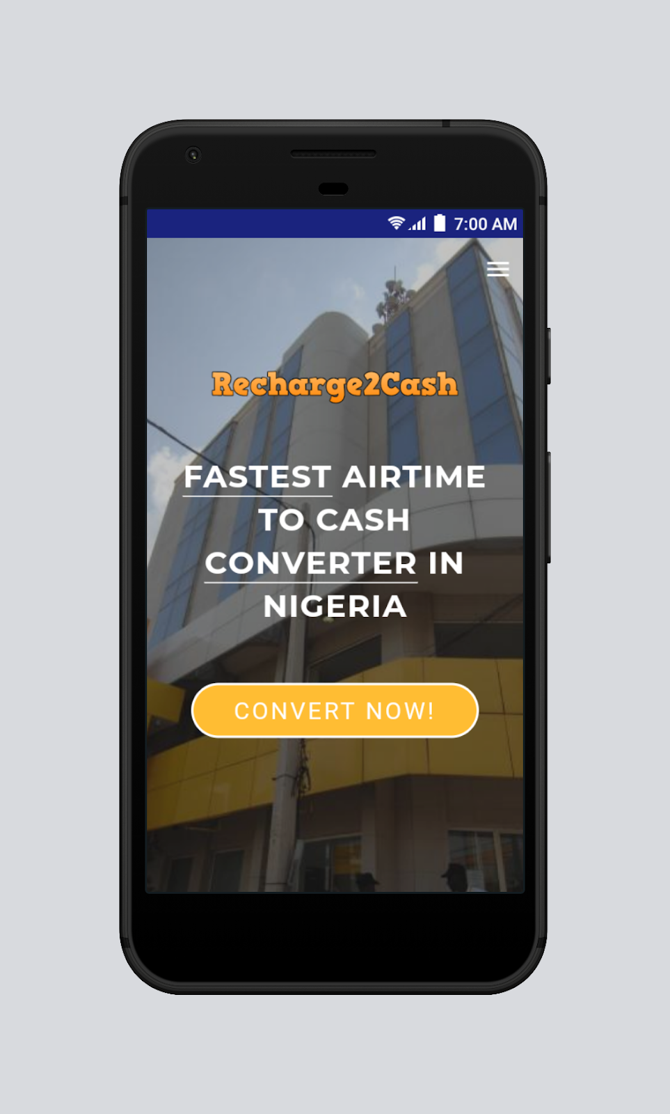 Recharge2Cash - Convert Airtime To Cash In Nigeria