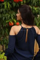 Poojita Super Cute Smile in Blue Top black Trousers at Darsakudu press meet ~ Celebrities Galleries 089.JPG