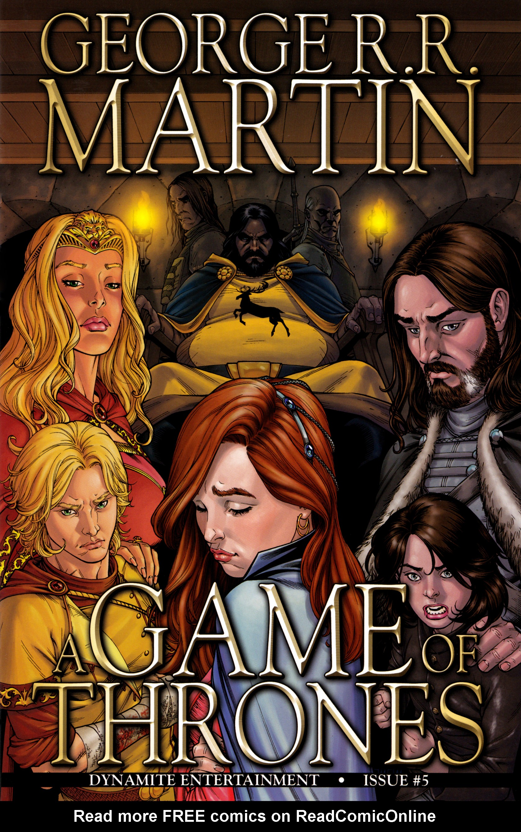 Read online A Game Of Thrones comic -  Issue #5 - 1