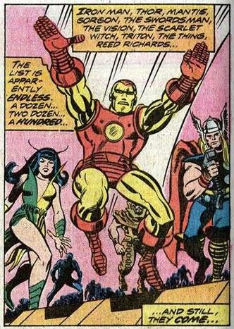 Fantastic Four 150-CrystalQuicksilver-Avengers