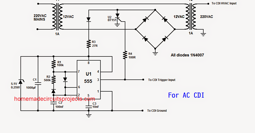 Ac Cdi Wiring Diagram Schematic Symbols Diagram