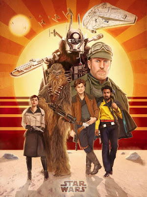 Solo: A Star Wars Story Lithograph Print by Dark Ink Art x Teddy Wright IV