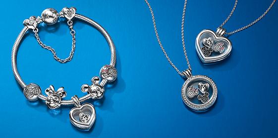 Pandora cria coleção inspirada no Mickey