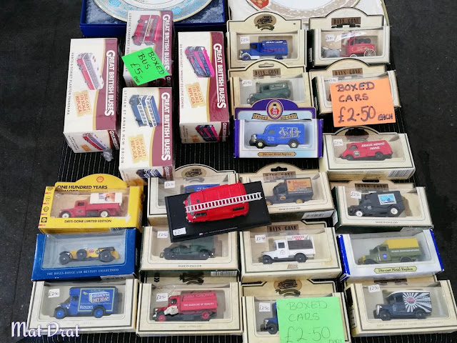Portobello Road Market Die Cast Car