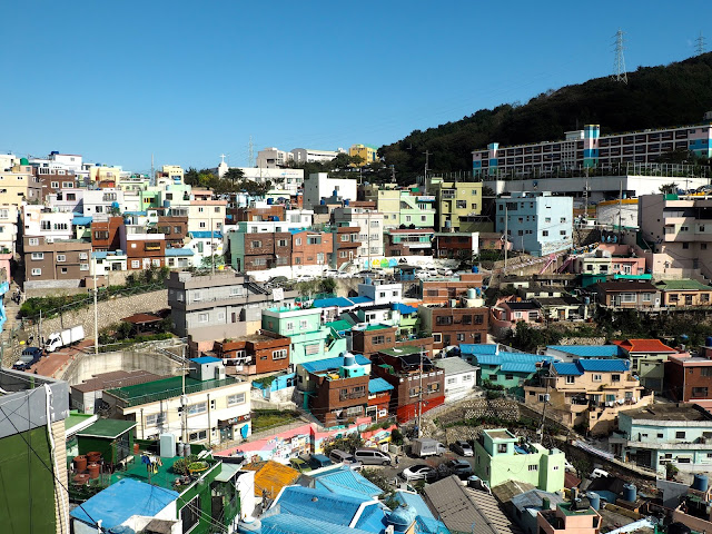 Colourful houses of Gamcheon Village, Busan, South Korea