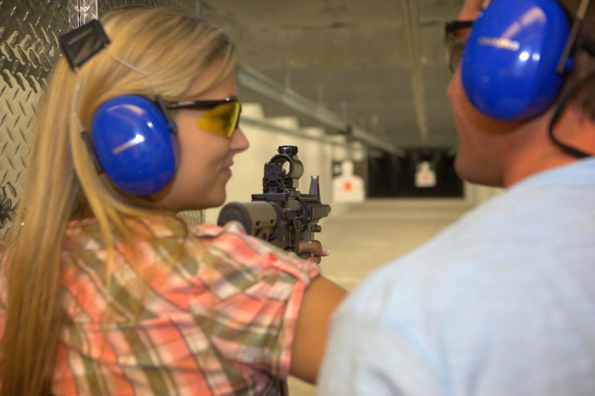 Tiro ao alvo no The Orlando Gun Club em Orlando