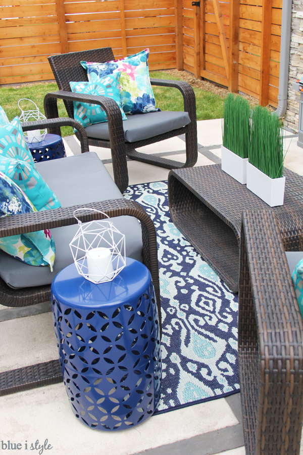 Patio decorating inspiration