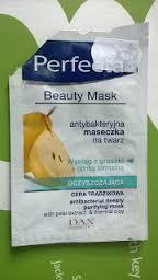 Recenzja - Perfecta oczyszczająca antybakteryjna maseczka