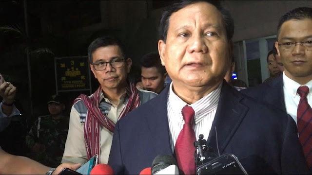 Dokumen Rahasia AS Soal Prabowo, Isu Basi Buat Gerindra