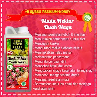 Madu Al Qubro Premium Buan Naga 1 Kg | Produsen Madu Al Qubro Premium