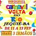 Carnaval Volta do Rio será realizado de 11 a 13 de Fevereiro em Jequié, confira