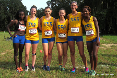 TCC Eagles cross-country wpmen
