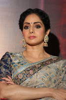 Sri Devi in designer saree stunning beauty at the launch of MOM movie Trailer~  Exclusive 061.JPG