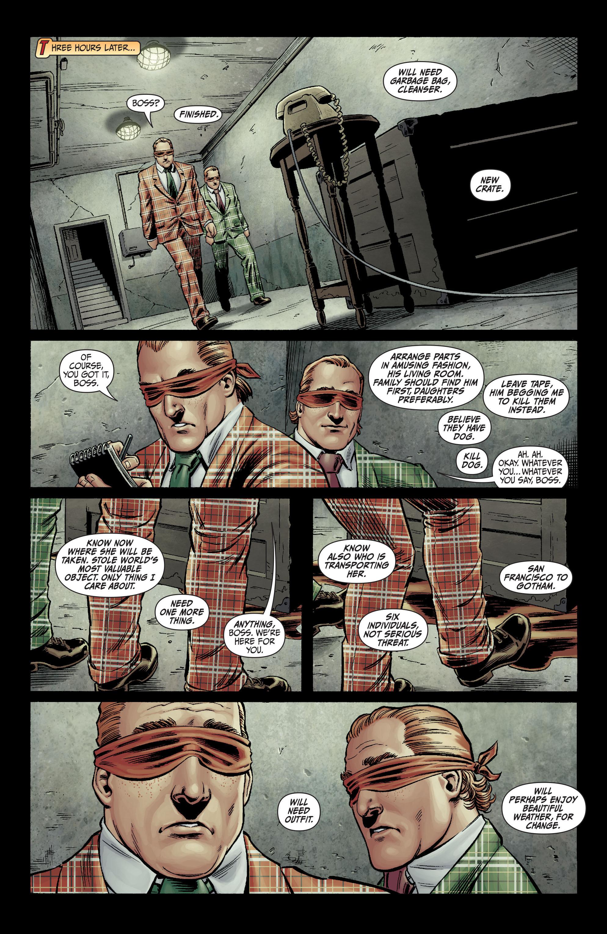Read online Secret Six (2008) comic -  Issue #1 - 10