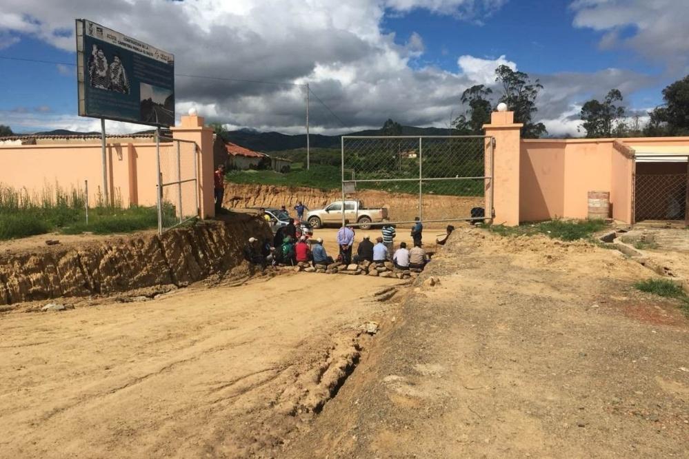 Campamento de la empresa china en Padilla / PRENSA SINOHYDRO