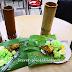 Nasi Lemak Bamboo, Afzar Maju Corner, latest food craze, Kepong, Malaysia
