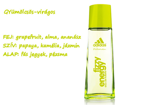 0d98a1aaba18 Adidas Fizzy Energy 30 ml - 3930 Ft