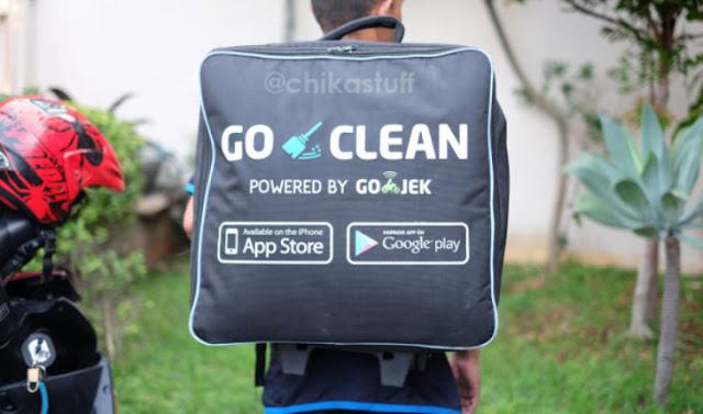 Cara Daftar Go Clean dari  Gojek
