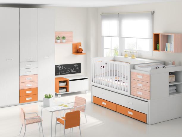 Cunas convertibles en cama transformables - Habitaciones de bebe convertibles ...