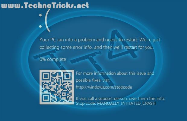 windows 10 blue screen of death gets qr code problem solved
