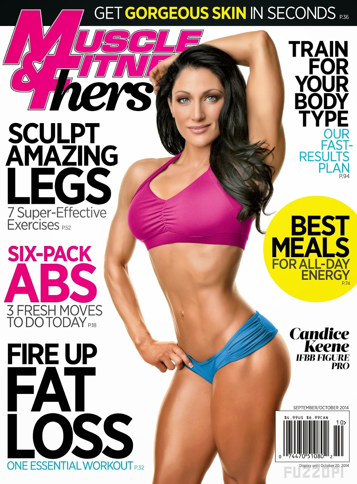 Candice Keene - Muscle & Fitness Hers Magazine, September/October 2014