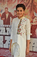 Taapsee Pannu Looks Super Cute in White Kurti and Trouser 07.JPG