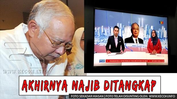 Najib Didakwa Salah Guna Kuasa Dan Pecah Amanah