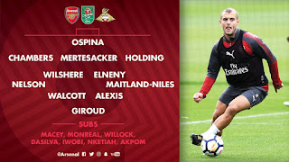 Arsenal vs Doncaster Rovers Live online stream Today 20 September 2017 League Cup