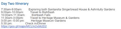 Fairy Tale Massachusetts Itinerary Day 2